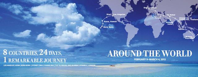 Four Seasons Private Jet: Around the World February-March 2015