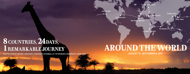 Four Seasons Private Jet: Around the World August - September 2015