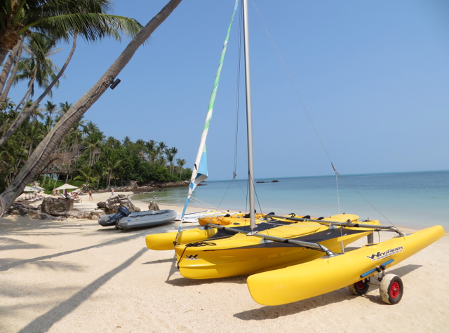 Four Seasons Koh Samui Review - Private Beach