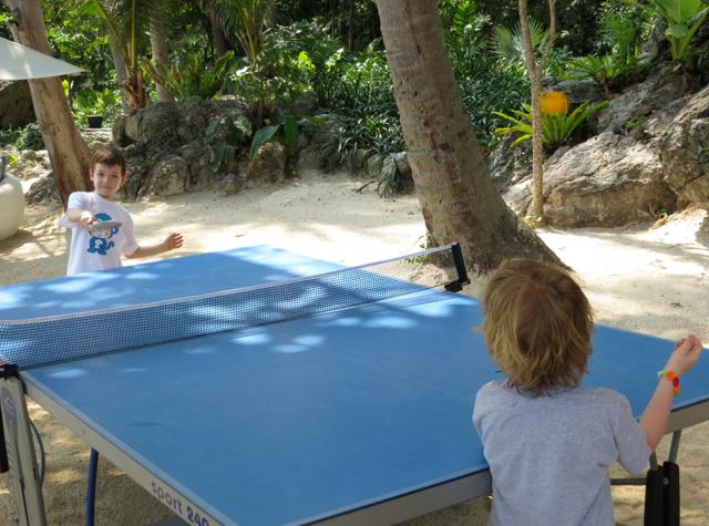 Four Seasons Koh Samui Beach Ping Pong (Table Tennis)