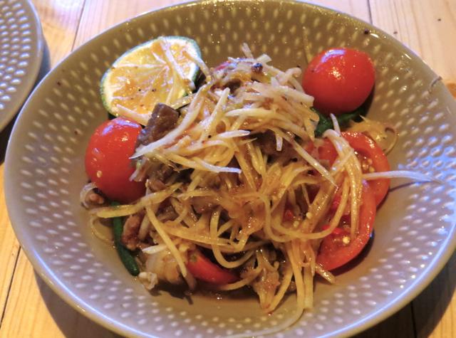 Somtum Der NYC Restaurant Review - Somtum (Green Papaya Salad)