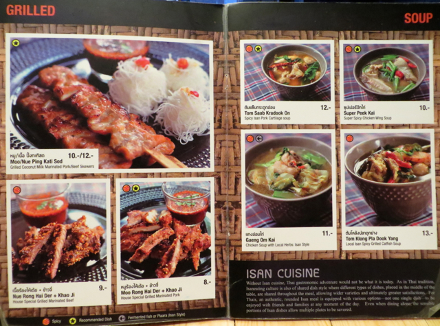 Somtum Der NYC Menu - Grilled Meats