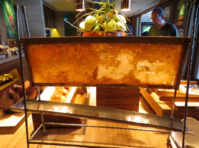 Four Seasons Koh Samui Breakfast Review - Honeycomb