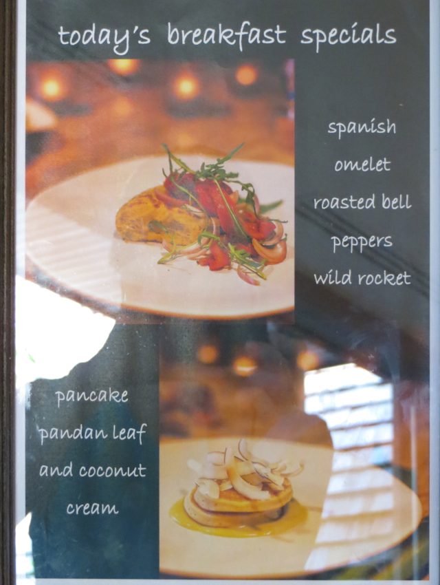 Four Seasons Koh Samui Breakfast Specials Cooked to Order