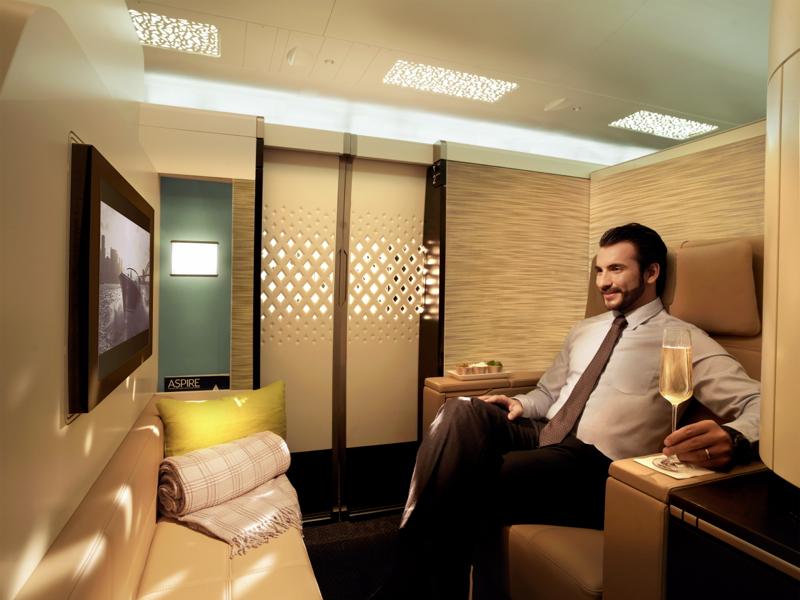 Etihad A380 First Apartment
