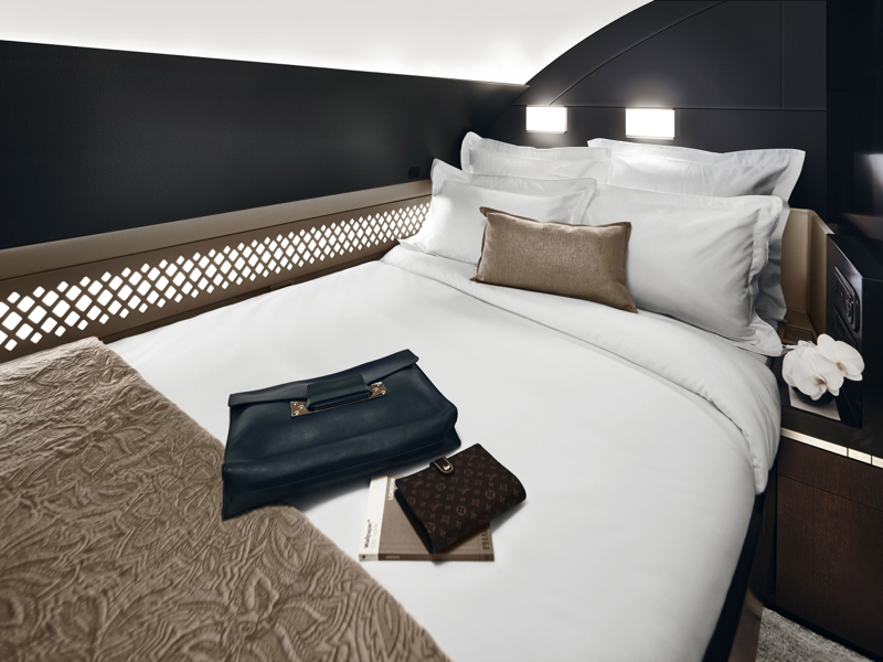 Etihad A380 The Residence Bedroom