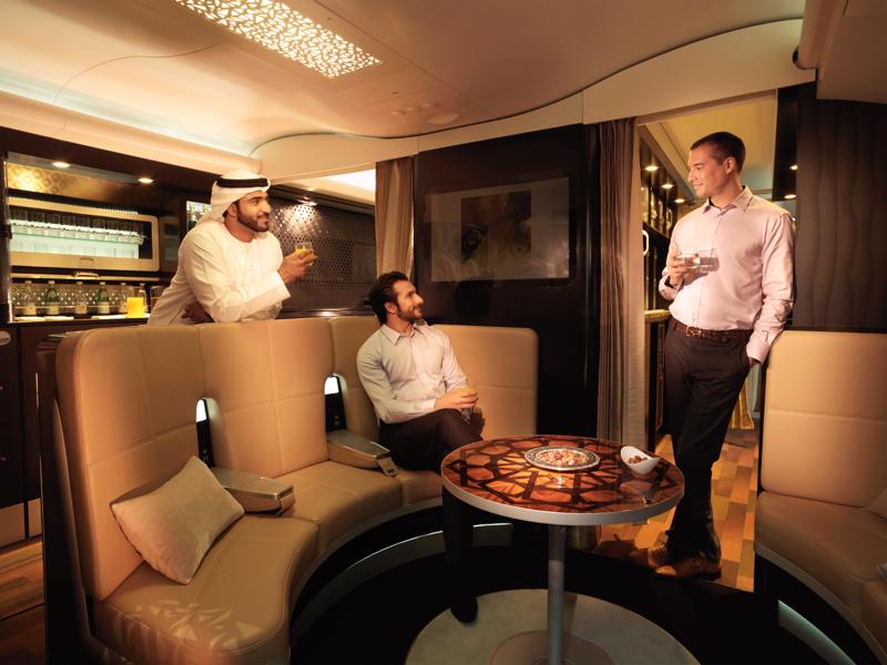Etihad A380 The Lobby