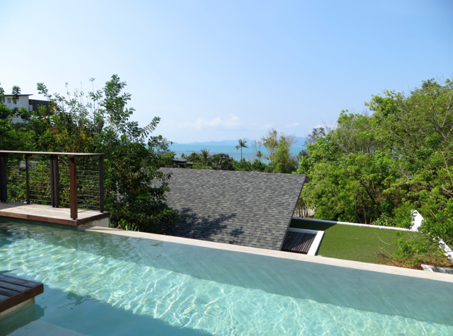 W Koh Samui Review - Jungle Oasis Pool and View