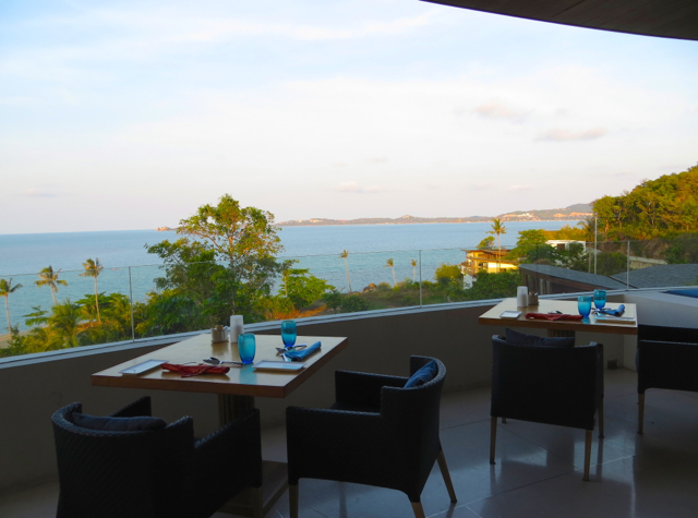 view from kitchen table terrace w koh samui - Kitchen Table Review