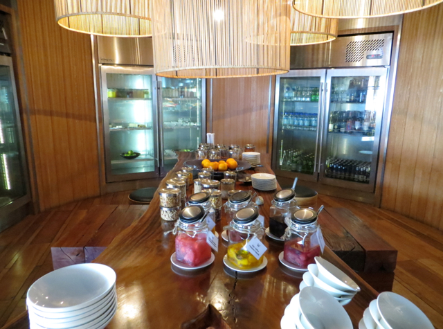 W Koh Samui Breakfast Buffet at The Kitchen Table