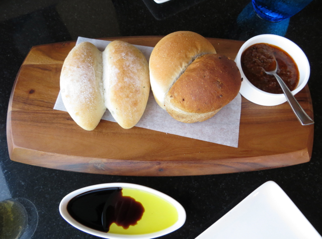 complimentary bread at dinner the kitchen table w koh samui - Kitchen Table Review