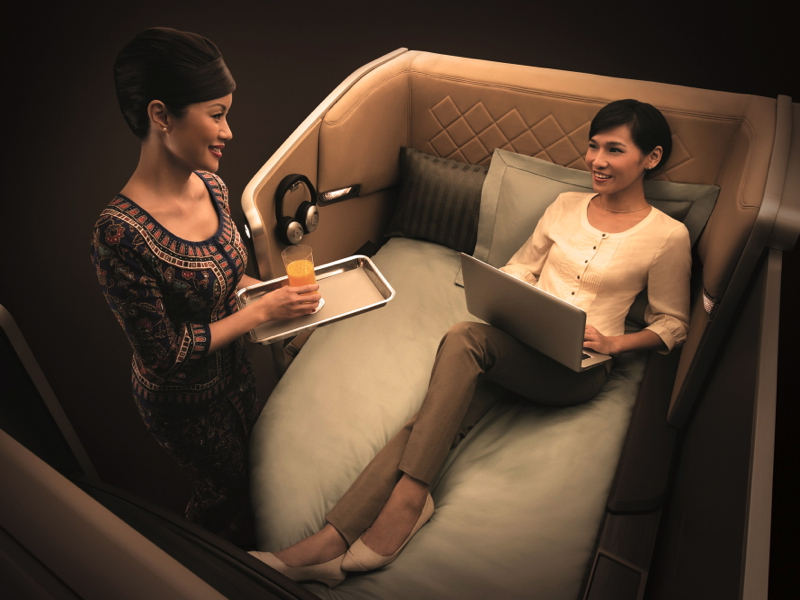 Singapore Airlines: New First Class and New Business Class on All 777-300ERs