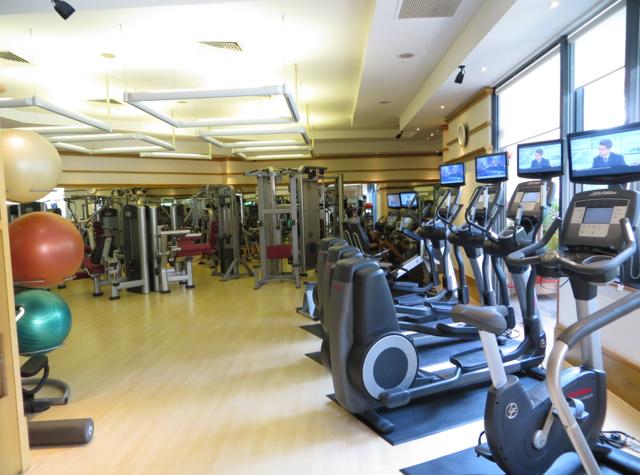 Four Seasons Singapore Review - Fitness Center