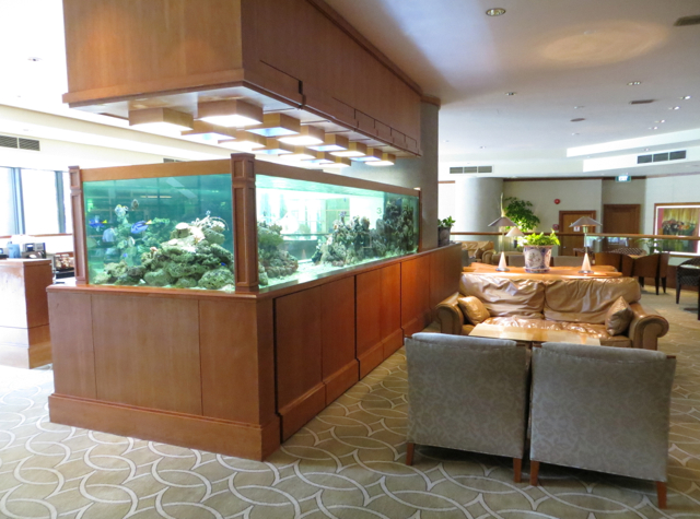 Four Seasons Singapore Review - Lounge Seating