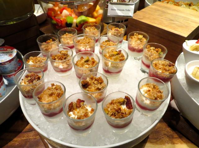 One Ninety Singapore Review - Yogurt, Breakfast Buffet