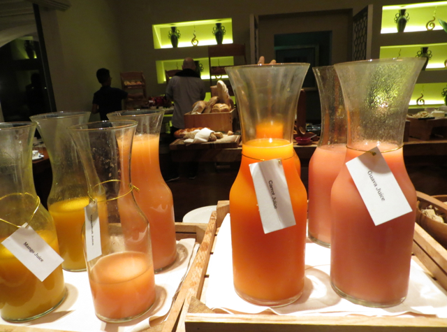 One Ninety Singapore Review - Breakfast Juices
