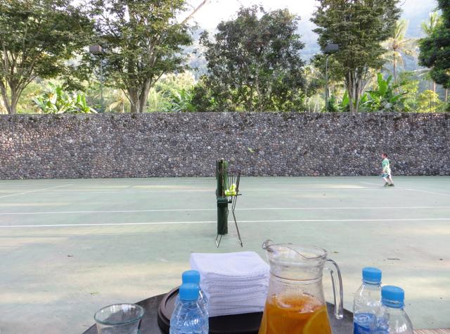 Amanjiwo Review - Tennis Court