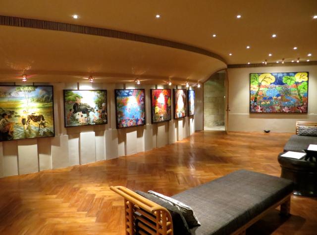 Amanjiwo Review - Art Room