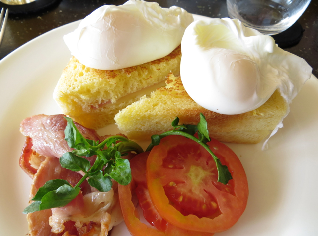 Amanjiwo Breakfast - Croque Madame