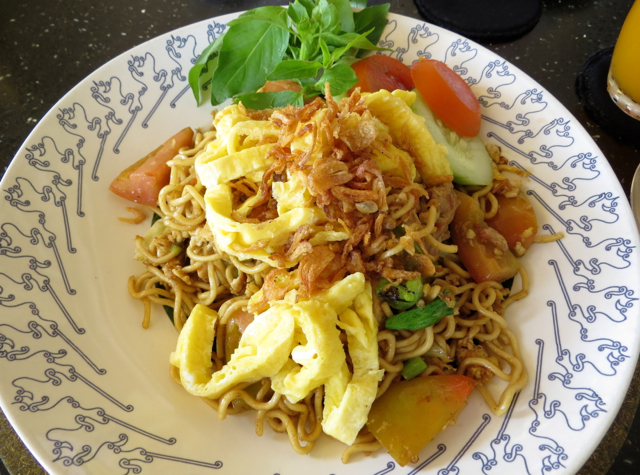 Amanjiwo Restaurant Food - Mie Goreng