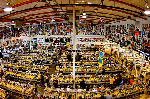 Amoeba Music, Hollywood