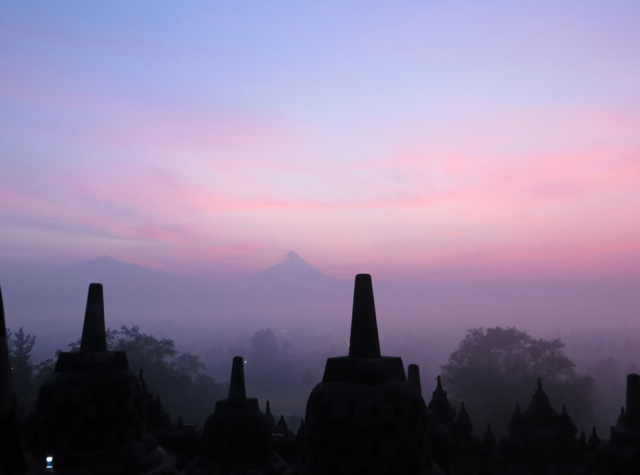 Borobudur Sunrise Tour - Stupas, Mist and Mount Merapi