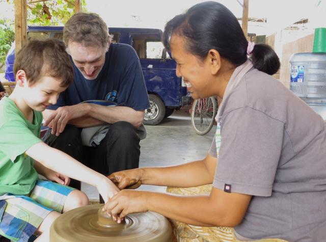 Andong Ride, Borobudur - Pottery Making
