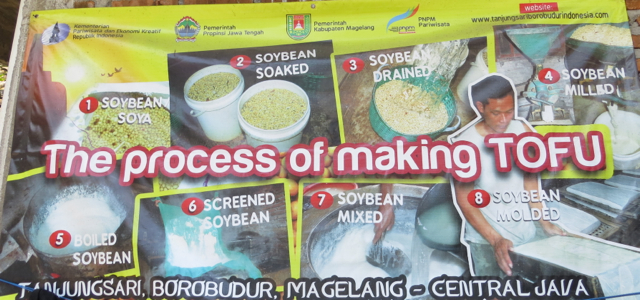 Andong Ride in Borobudur - Tofu Making Process