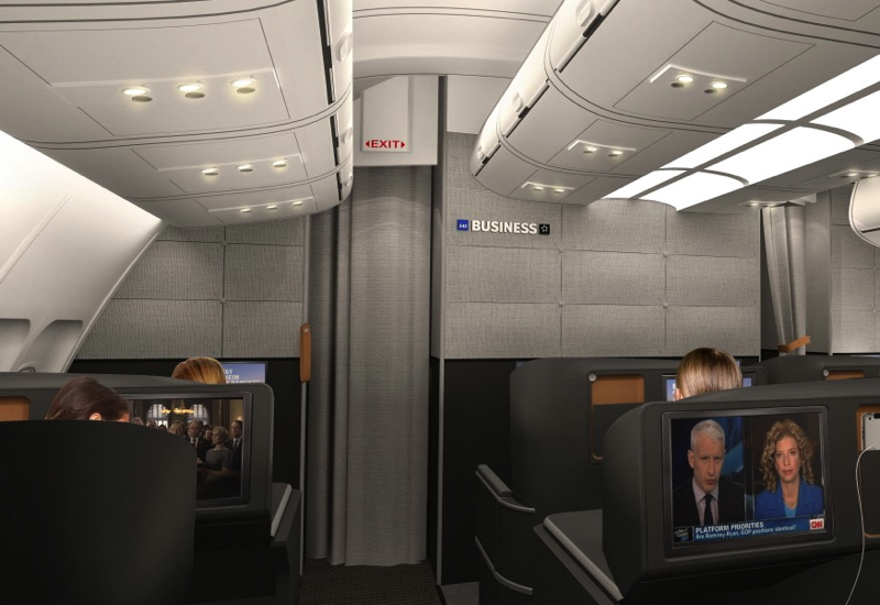 SAS New Business Class Cabin