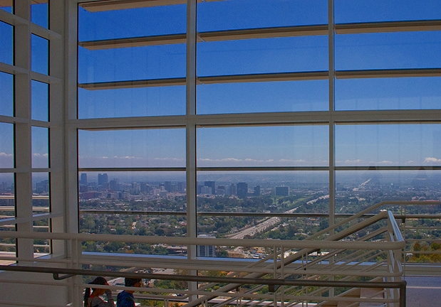 Spectacular Views from the Getty Center, Los Angeles