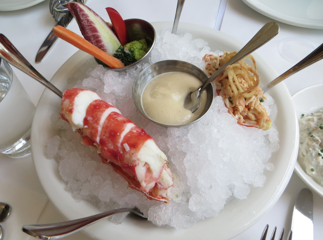 The Clam NYC Review - Chilled King Crab
