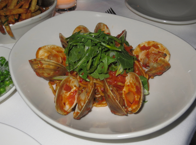The Clam NYC Review - Spaghetti and Clams