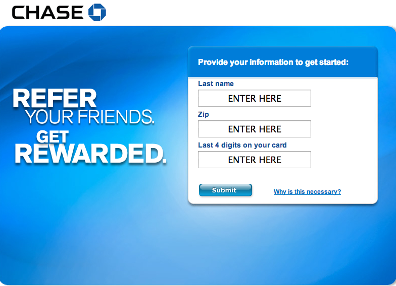 Chase Refer a Friend Bonus-Sapphire Preferred Chase Freedom