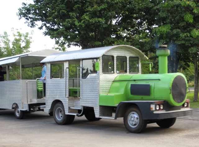 Train, Prambanan