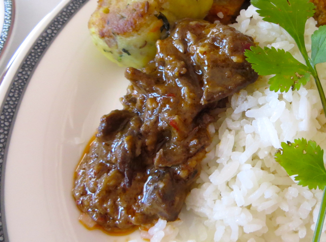 Singapore Book the Cook Review - Rendang