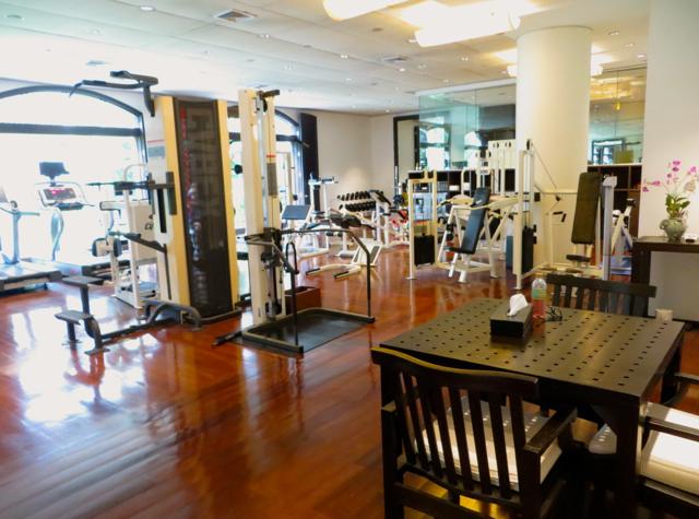 Four Seasons Bangkok Hotel Review - Fitness Center