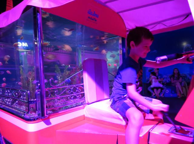 Siam Ocean World Bangkok Aquarium - Playground Tuk Tuk