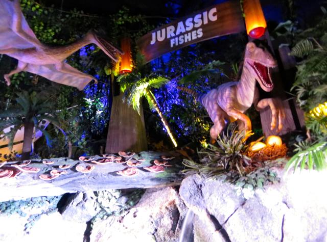 Siam Ocean World Bangkok Aquarium - Jurassic Fishes Exhibit