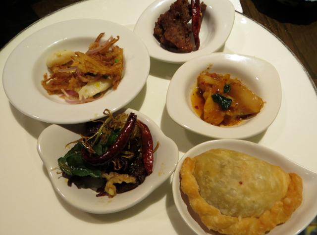 Four Seasons Bangkok Executive Club Lounge Thai Appetizers