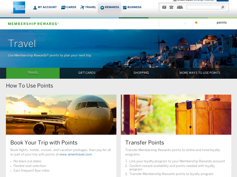 Online Transfer of AMEX Points to Airline Miles: Your or Authorized Users' Accounts Only