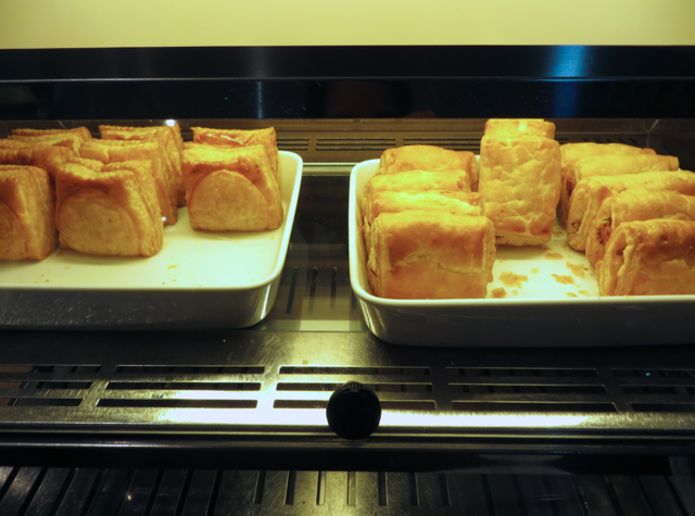 Thai Royal Orchid Lounge Bangkok - Savory Pastries