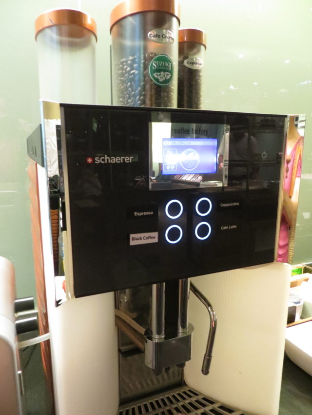 Thai Royal Orchid Lounge Bangkok Review - Coffee Maker