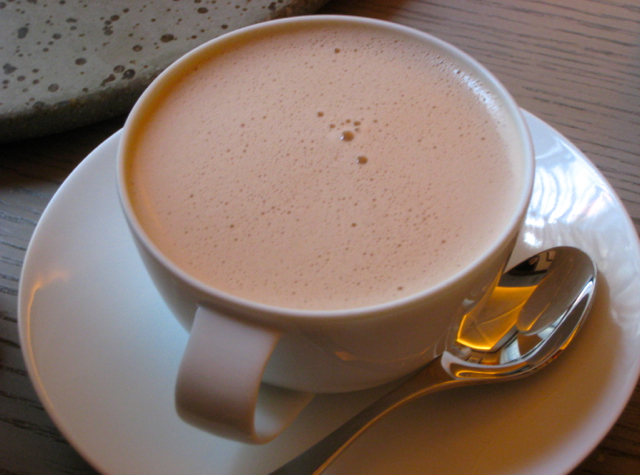 Juni NYC Restaurant Review - Hot Chocolate