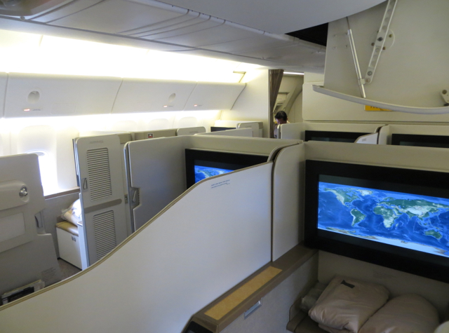 Asiana First Class Suite Review - First Class Cabin