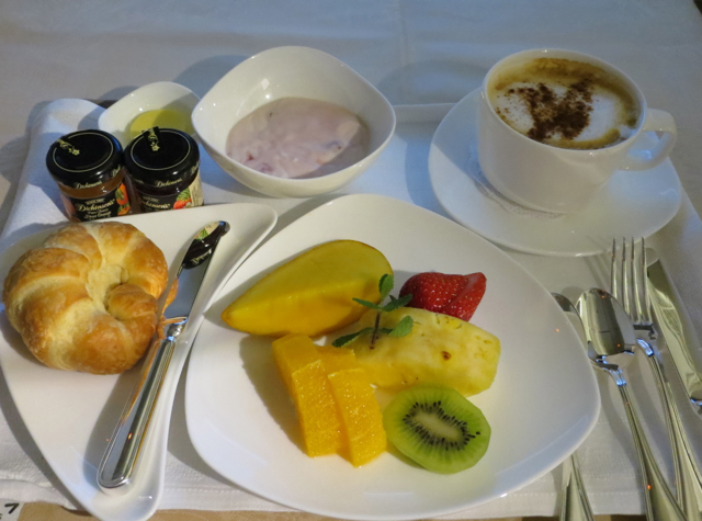 Asiana First Class Suites - Breakfast