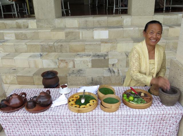 Best Hotel Welcome Amenities-Afternoon Tea, Amanjiwo