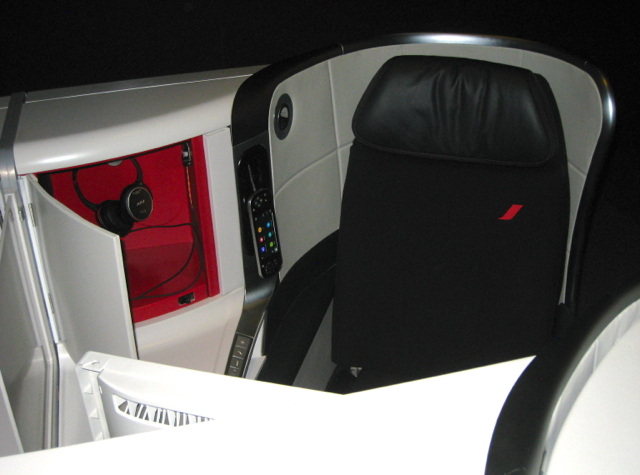 Air France New Business Class Seat at Air France Expo