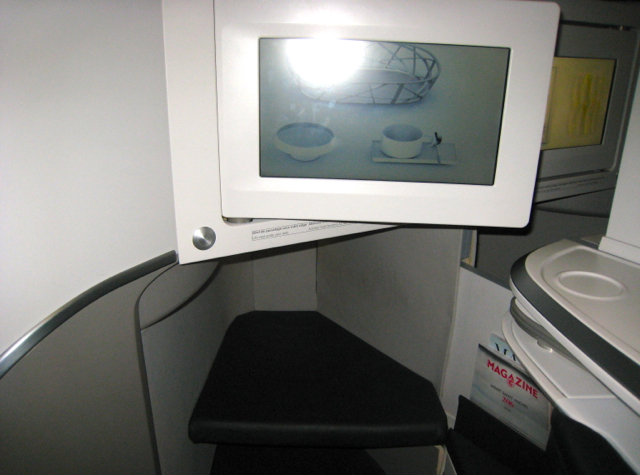 Air France New Business Class Seat, Air France Expo