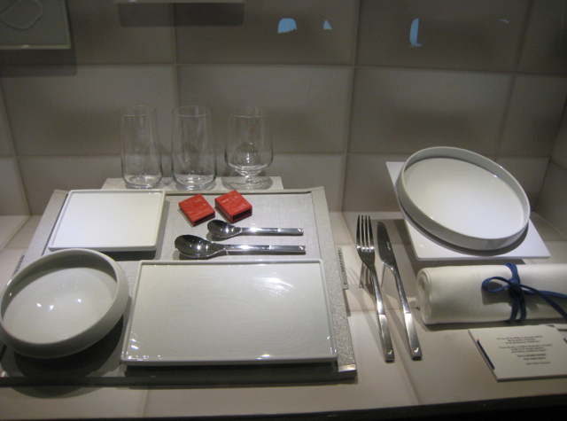 Air France New Business Class Tableware