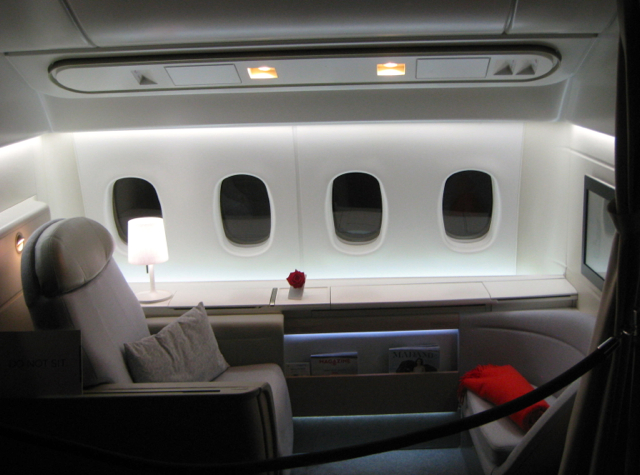Air France New Business Class and First Class Photos
